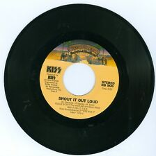 Kiss 2012 reissue vinyl 45 record Shout It Out Loud b/w Nothin' To Lose