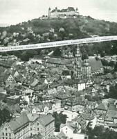 Coburg - Luftbild der Altstadt - Großformat - um 1935            U 23-5