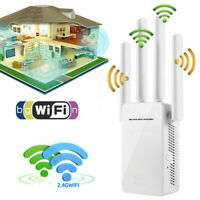 WiFi Extender Range Signal Booster Wireless Dual-Band Network Repeater 300Mbps