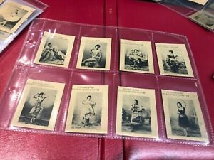 SOUTH AMERICAN CIGARETTE CARDS X99 ACTRESSES BEAUTIES