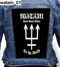 Watain    Back Patch Backpatch ekran new
