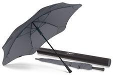 BLUNT Classic CHARCOAL GREY Large Storm Resistent Stick Umbrella 2 YEAR Warranty