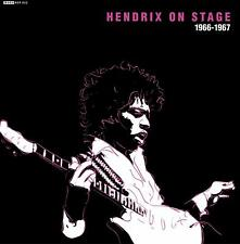 "Jimi Hendrix: Hendrix On Stage 66 - 67 EP 7"" Vinyl Record"