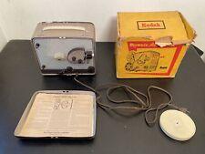 brownie kodak 8mm MOVIE projector model 1 Needs Bulb+ Box + MANUAL