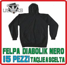 MATERIALE ULTRAS felpa DIABOLIK ninja nero PEZZI 15