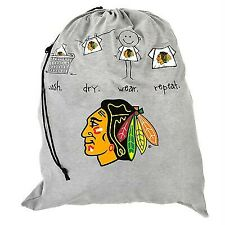 New Licensed Chicago Blackhawks Duffle Laundry Bag  hat jersey LAST ONES! ba