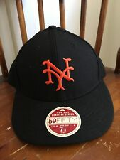 New Era 59 Fifty Fitted Hat Sz 7 1/8 New York Mets