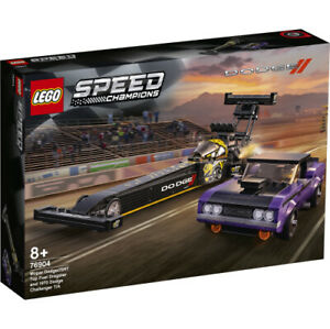 LEGO Speed Champions - Mopar Dodge SRT Dragster & 1970 Dodge Challenger - 76904