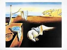 Salvador DALI poster stampa d'arte immagine The Persistence of Memory 40x50cm porto franco