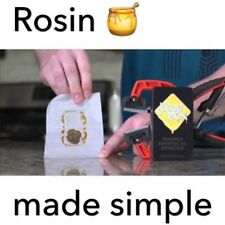 Ju1ceBox Handheld Rosin Press with Juice Straw 14mm Nail