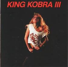 KING KOBRA - III (1988) CD Jewel Case+FREE GIFT Hard Rock Carmine Appice
