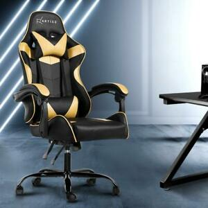 Artiss Office Chair Gaming Chair Computer Chairs Recliner PU Leather Seat Armres
