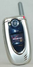 LG VX5200 SILVER Flip Open Clamshell Style Cell Phone VGA Camera Verizon texting