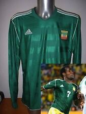 Ethiopia ADIDAS L/S Shirt Jersey Soccer Adult XL Maglia BNWT World Cup Africa G