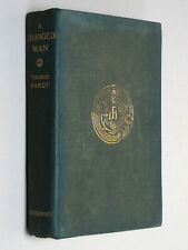 A CHANGED MAN - Thomas Hardy (1913 First Edition) Waiting Supper & Other Tales