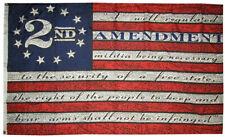 2nd Amendment Betsy Ross 100D Woven Poly Nylon 2x3 2'x3' Flag Banner Grommets