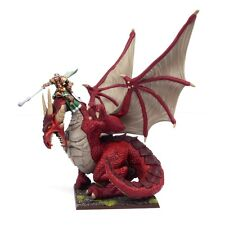 Mantic Kings of War BNIB Elf Dragon Kindred Lord MGKWE103