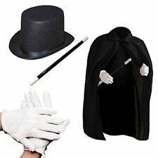 Child's Halloween Magician Role Play Dress up Costume Set