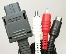 Nintendo Official S-Video Cable SHVC-009 for Super Famicom, Game Cube, N64 Japan