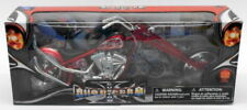 Motos et quads miniatures verts New-Ray 1:12