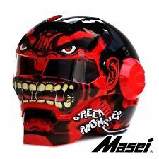 Masei 610 Red Monster Flip Up Bike Motorcycles Helmet  M L XL