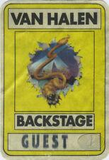 VAN HALEN 1982 Hide Your Sheep Tour Backstage Pass