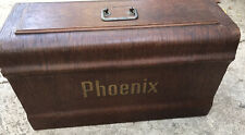 Antique Wooden Phoenix Sewing Machine Cover