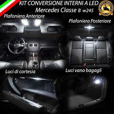 KIT LED INTERNI MERCEDES CLASSE B W245 CONVERSIONE COMPLETA + LUCI TARGA 6000K