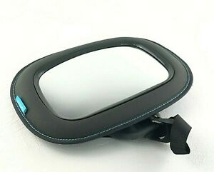 Munchkin Brica 31cm Car Seat Mirror Auto S.Touch View Back Safety Rear Baby Grey