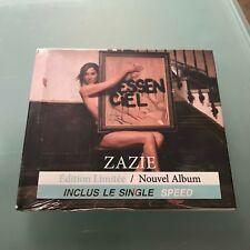 Zazie  Essenciel  CD ALBUM LIVRE-DISQUE - Edition Limitée Lancement 7/09/2018 $