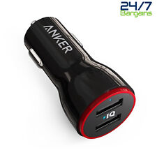 Anker PowerDrive 2 24W 2-Port Dual USB Car Charger