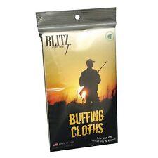 "Blitz 2pk Firearm Buffing / Wiping Cloths - 11"" x 14"""