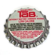 Vintage Coca-Cola TAB Low Calorie TAPPO BOTTIGLIA USA SODA ANNI 1970