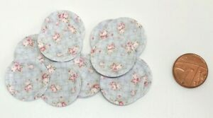 Dolls House Miniature 20 Shabby Chic Paper Plates (DD223)Additional ItemsP&PFREE