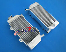 For Honda CRF250 CRF250R CRF250X 2004-2009 04 05 06 07 08 aluminum radiator
