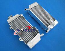 For Honda CRF250 CRF250R CRF250X 2004-2009 04 05 06 07 08 aluminum radiator