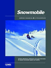 Clymer Snowmobile Service Repair Manual Vintage Multiple Models 1962-86 SMS-11