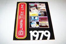 Vintage Catalog #469 - 1979 BUMPA-TEL LINE catalog DECALS