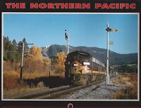 THE NORTHERN PACIFIC (Great Lakes to Pacific Northwest rail system) -- NEW BOOK