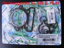Serie GUARNIZIONI HONDA XL 500 S, xl500s, pd01, Gasket Set, completamente, cilindro + vai