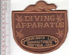 SCUBA Hard Hat Diving Canada John Date Diving Helmet & Apparatus Equipment black