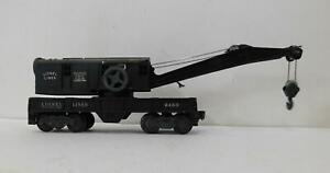 LIONEL 6460 CRANE CAR (BLACK)