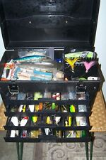 Phantom Pro Tacklebox with tackle, lures, spoons, jigs, flies, etc