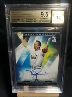 2020 Topps Finest Moments Mark McGwire Auto Refractor BGS 9.5