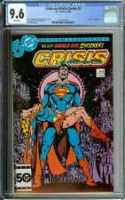 CRISIS ON INFINITE EARTHS #7 CGC 9.6 WHITE PAGES // DEATH OF SUPERGIRL