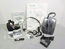 Plantronics Cs55 Wireless Headset System with Hl10 Lifter, Ear Band, Hooks