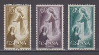 SPAIN AÑO 1957 MNH NUEVO SIN FIJASELLOS ESPAÑA - EDIFIL 1206/08