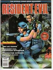 RESIDENT EVIL: OFFICIAL COMIC BOOK MAGAZINE #1 (1998) By Ted Adams **Excellent**