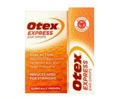 Otex Express Ear Drops - 10ml X 4 bottles