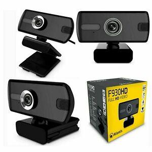Webcam Atlantis P015-F930HD Full HD Video 1080p Microfono integrato FHD USB 2.0
